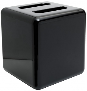 6L Black Square Ice Bucket UK Pub and Bar Supplies